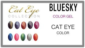Гел лак BLUESKY CAT EYE Color