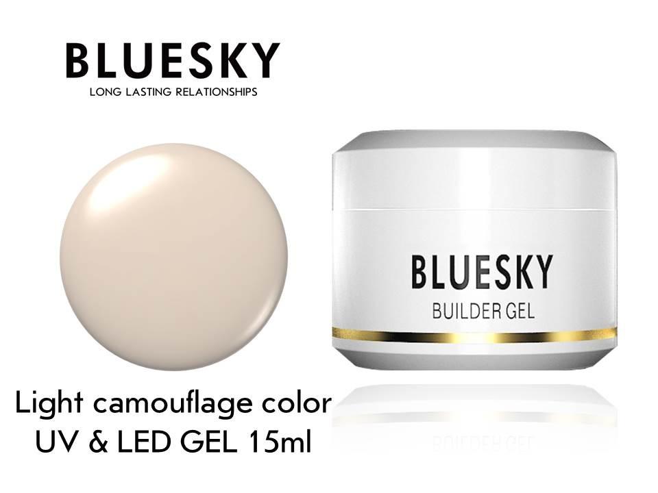 Гел за изграждане Bluesky Light Camouflage Color Builder Gel 15ml Гел лак за нокти Bluesky
